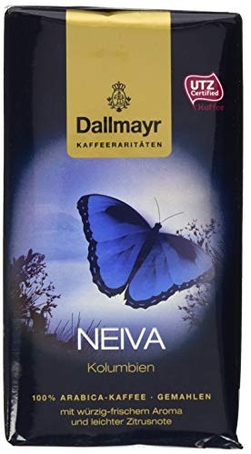 Dallmayr Kaffee Kaffeerarität Neiva Filterkaffee, HVP, gemahlen (1 x 250 g)