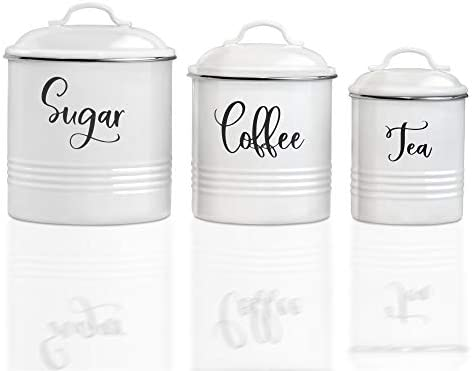 Home Acre Designs Collection Canister Sets For Kitchen Counter Farmhouse Kitchen Decor Rustic product image