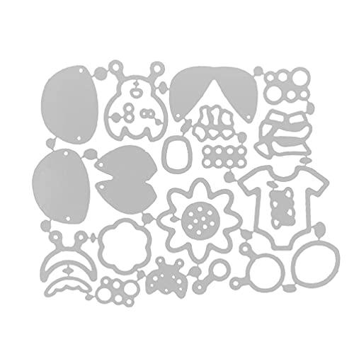 Baby Beetle Metal Cutting Dies Metal Embossing Stencil Tools FineGood Die Cutters for Card Making DIY Craft Dies for Die Cutting Scrapbook Album Decoration Cutting Dies for Card Making Clearance Dies