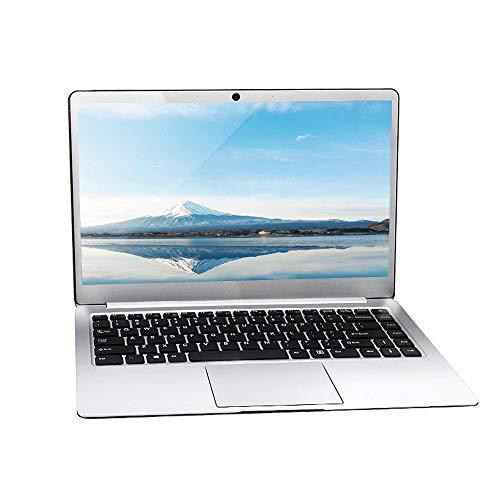 PC portatile da 14 pollici Intel J3455 Quad CPU, Windows 10 Pro OS, 6 GB di RAM, SSD da 128 GB, Full HD 1920 x 1080, lunga durata della batteria, schermo sottile, D15