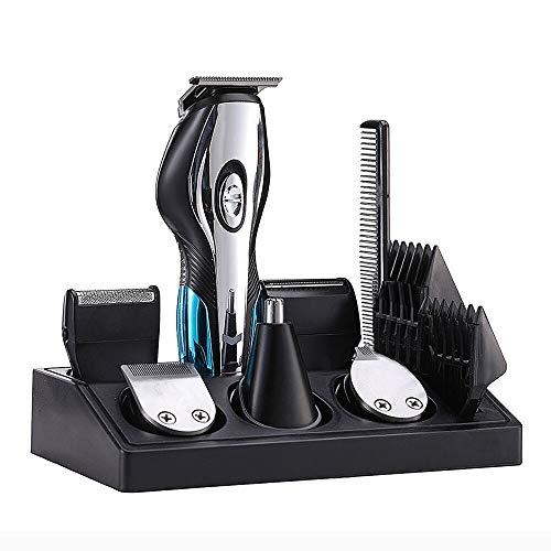 Padgene Multi-Haarschneidemaschine, USB Wiederaufladbarer Haartrimmer Herren Bartschneider Nasenhaarschneider Präzisionstrimmer für Männer Grooming Kit