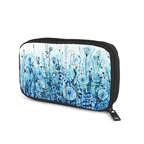 Accesorios electrónicos Bolsa organizadora Azul Horizontal Thickets Field Diente de león Meadow...