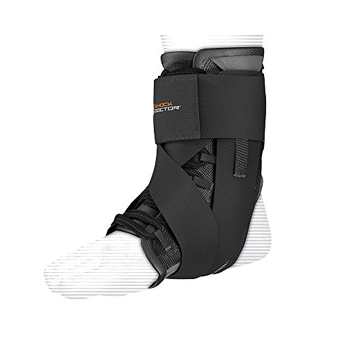 Shock Doctor Ultra Lace Wrap Ankle Support Black Medium