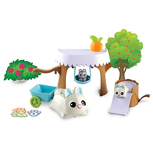 Learning Resources Coding Critters Bopper, Interactive STEM Coding Pet, Early Screen Free Coding Toy for Preschooler, 22 Pieces, Ages 4+