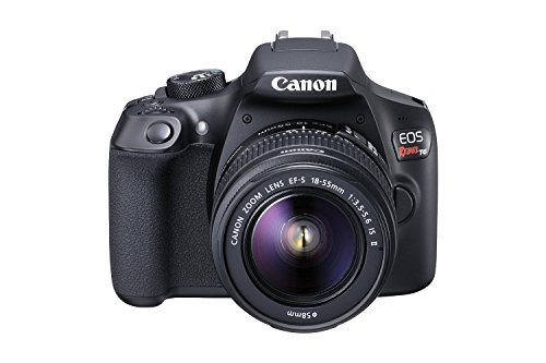 (Renewed) Canon EOS Rebel T6 Digital SLR Camera Kit with EF-S 18-55mm f/3.5-5.6 is II Lens, Built-in WiFi and NFC - Black