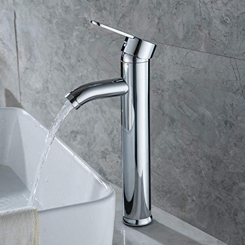 Edelstahl Chromstahl Einhand Einlochmontage Becken Wasserhahn Waschbecken Wasserhähne Becken Deck Montiert Tap Home Decor