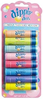 Dippin' Dots 8 Pieces Flavored Lip Balm Set