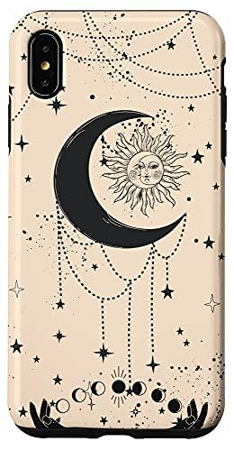 iPhone XS Max iPhone 12 Pro Mystical Tarot Card Aesthetic Sun Moon Case Case