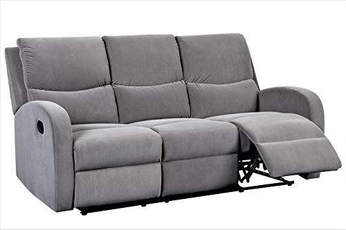 Container Furniture Velvet Grey 72.5