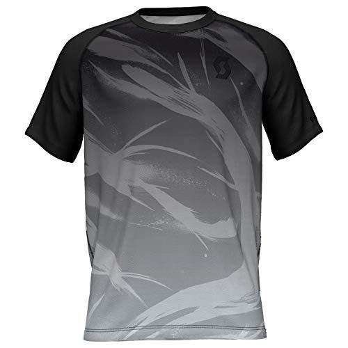 Scott SCO Shirt Kinabalu Run Noir/Gris Clair, m