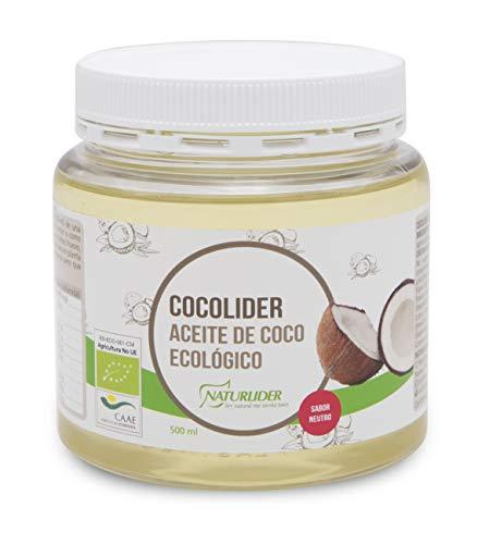 Naturlider Cocolider Aceite De Coco Ecologico 500 Ml 500 g