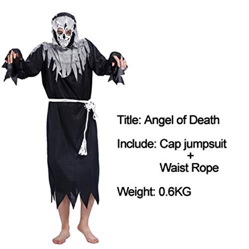 GBYAY 2019 Cosplay Halloween Fiesta de Halloween espectáculos de Baile Horror Fantasma Pirata Fantasma Ropa Vestido de Bruja Disfraz