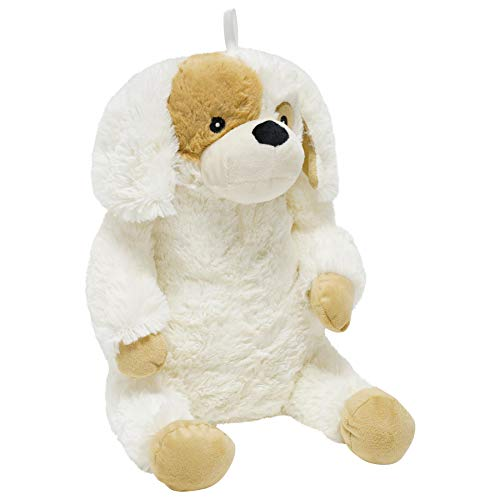 Plush Dog 3D Novelty Hot Water Bottle with Removable Cover Soft Plush - 800ml