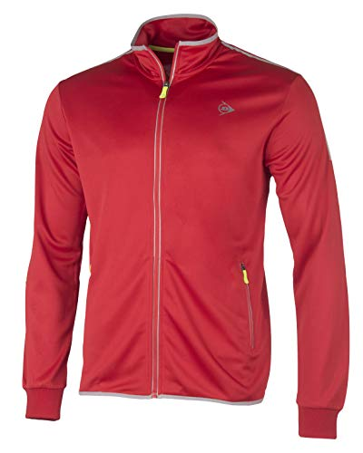 Dunlop Club Line Knitted Jacket Homme Rouge FR : 3XL (Taille Fabricant : XXXL)