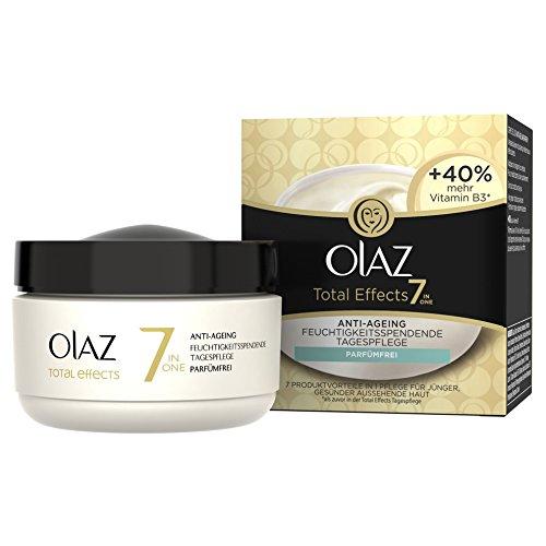 Olaz Total Effects 7-in-1 Anti-Aging-Feuchtigkeitsspendende Tagespflege Parfümfrei 50 ml