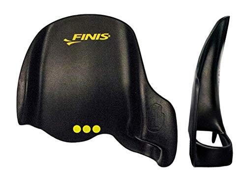 Finis Skull Paddel Instinct Sculling Palas de Mano para natación, Unisex, Negro, M