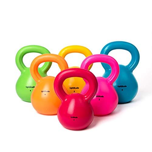 Kettlebell AGYH Donne Kettlebells, Squat Push-up-Pesi Manubri, Adatto A Palestra di Pilates di Yoga, 2kg / 3kg / 4kg / 5kg / 6kg / 8kg (Size : 2kg/4.4lb)