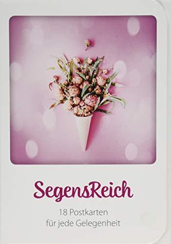 SegensReich - Postkartenbuch: 18 Postkarten für jede Gelegenheit