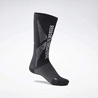 Reebok, Tech Style Eng Crew Sock Calcetines, Unisex Adulto, Negro, L