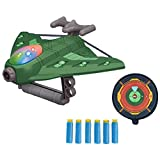 BTSEURY Zielschießspiele für Kinder, lustiges Katapult-Flugzeug-Spielzeug-Schießspiel-Spielzeug für Kinder ab 3 Jahren