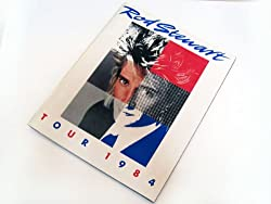 Rod Stewart ロッド・スチュワート 1984年 コンサートツアー  [コンサートパンフレット]