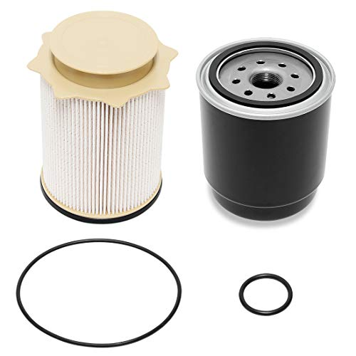 Wisamic 6.7L Cummins Diesel Filter Set Replacement for 2013-2018 Dodge Ram 2500 3500 4500 5500 6.7L Cummins Turbo Diesel Engines, Fuel Filter Water Separator Set Replace 68197867AA 68157291AA
