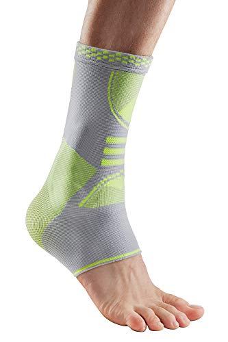 health & harmony® Die Fuß- und Sprunggelenk-Bandage Protection Line mehr Schutz & Sicherheit für Fuß und Knöchel 3D Softpads, atmungsaktiv rechts Links M