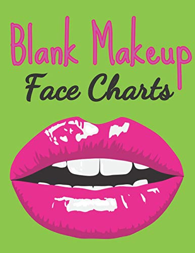 Makeup Chart Book: 120 Faces to Unleash your foolish style   Flashy Cover ...
