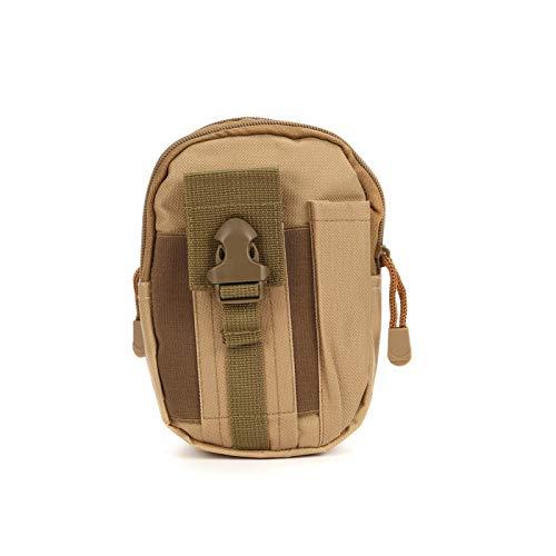 De múltiples fines Paquete de la cintura bolsa casual bolso de viaje monedero impermeable correa cremallera táctica al aire libre deporte paquete multifunción Paquete de teléfono para escalada al aire