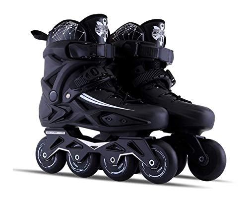 Inline Velocidad Zapatos de los Patines de Hockey Patines Zapatillas de Rodillos Mujer Hombre Patines de Ruedas for los Adultos Patines en línea Profesional YSJ (Size : 41)