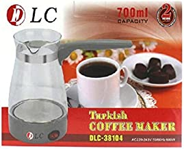 دي ال سي صانع القهوة التركيه مسحوق,متعدد الالوان - DLC-38104