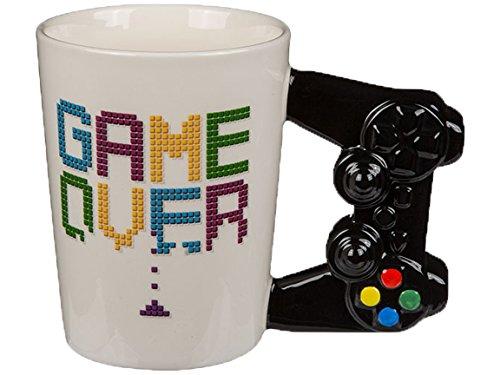 Bada Bing Kaffeetasse Tasse Becher Spielekonsole Game Over Ca. 14 x 11 cm Büro 73