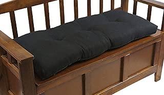 Klear Vu The Gripper Non-Slip Tufted Omega Universal Bench Cushion, 36