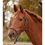 Waldhausen Knotenhalfter, dunkelblau/taupe, Pony