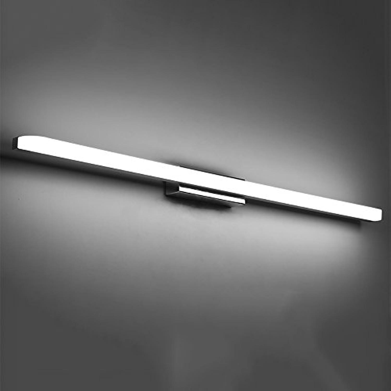 Badleuchten LED Moderne Wasserdichte Spiegel Frontleuchte Einfach Verlngert Dimmen Bad Spiegel Schrankleuchten Make-Up Wandleuchte Wandlampe (Farbe   C-40CM-8W)