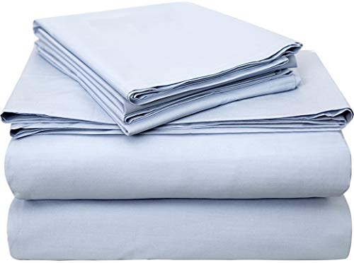 Bumble Towels Classic Luxury USA Pima Cotton Percale 4 Piece Bed Sheet...