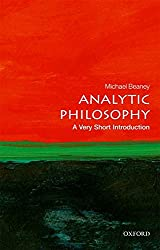 Analytic Philosophy: A Very Short Introduction - Michael Beaney Book Cover