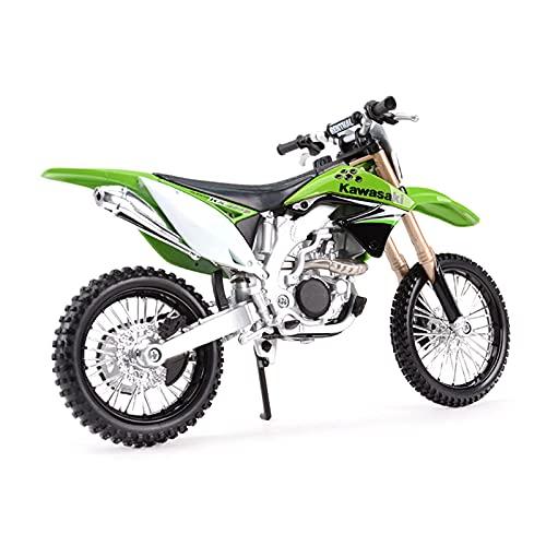 El Maquetas Coche Motocross Fantastico 1:12 Aleación Simulación En Miniatura Para Kawasaki KX 450F Vehículos Fundidos A Presión Juguetes Modelos Motocicleta Coleccionables Regalos Juegos Mas Vendidos