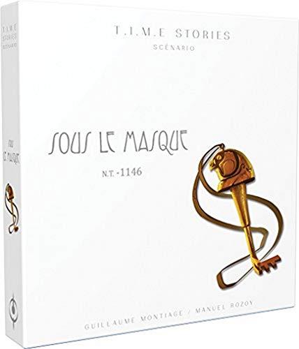 Time Stories – Extensión bajo la máscara – Asmodee – Juego de...