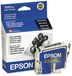 Epson® Stylus T032120 Ink Cartridge INKCART,F/C80,BK MS3510Y