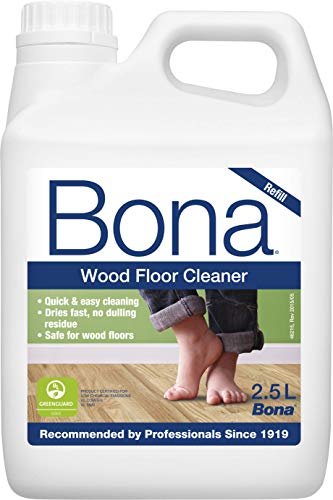 Bona Wood Floor Cleaner Refill - for use with Bona Spray Mop Kit, 2.5l