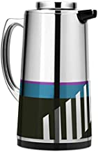 Royalford RF7948 Figured Vacuum Flask, 1.6L, Silver