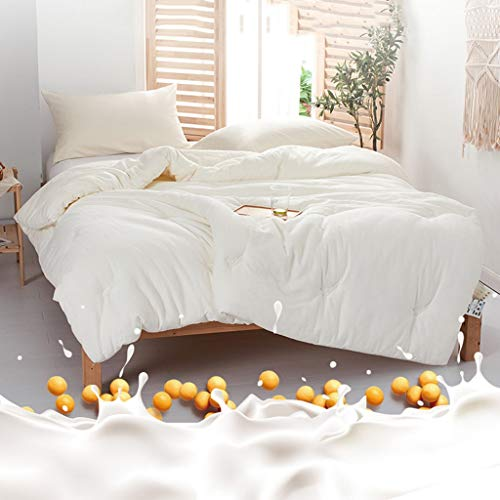 QUILT Bettwäsche Tröster Betteinsatz, Gesteppte Bettdecke mit Ecklappen, Alternative Tröster Betteinsatz mit Tabs waschbar und hypoallergen (Größe : 150 * 210cm)
