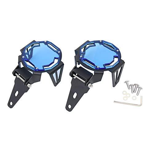 Topuality Motorrad Nebelscheinwerfer Schutzvorrichtungen Abdeckung Schutzgitter Ersatz für R1200GS F800GS R1250GS F850GS F750GS ADV