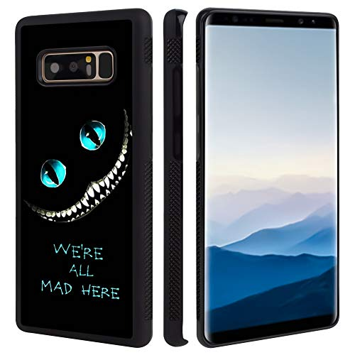 Phone Case Compatible with Samsung Galaxy Note 8 (2017) (6.3') Alice in Wonderland Cheshire Cat