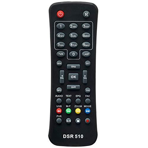 VINABTY DSR510 Fernbedienung für Schwaiger Mini Digital Satellite Receiver
