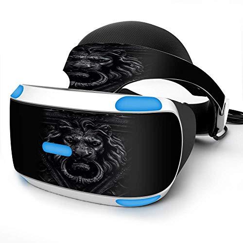 Sony Playstation VR Headset Skin Decal Vinyl Wrap - Gothic Lion door knocker