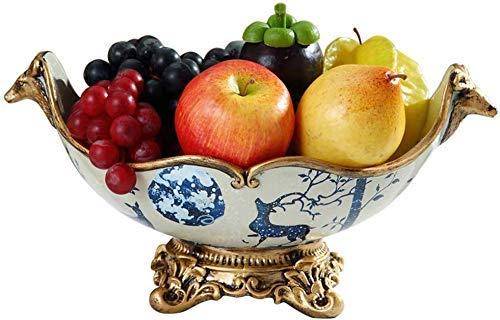 CHNGP Mooie Fruit Plate Creatief Hout Fruit Plate Zoete Schaal Chinese Lade Woonkamer Woonkamer Snoep Snacks Melon Box Fruit Plate (Kleur: Hout Kleur)