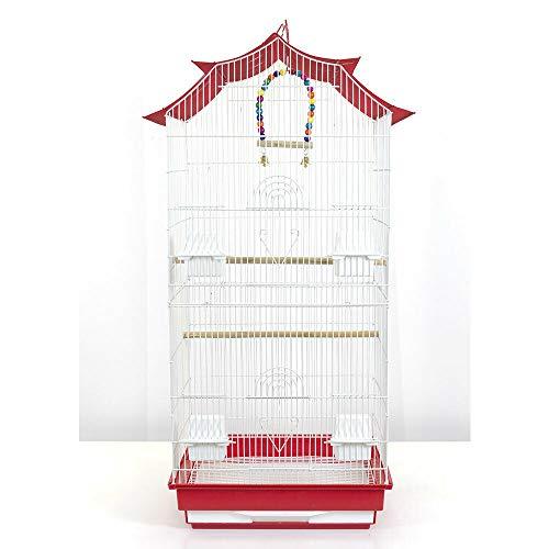 Pet\'s Solution Gabbia voliera Uccelli pappagalli canarini cocorite calopsite parrocchetti cocorite
