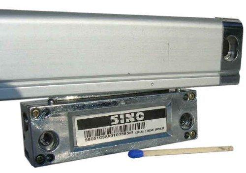 SINO Glasmassstab / Auflösung 1 µm / Typ KA300 (25x34,5) / Messlänge 420 mm